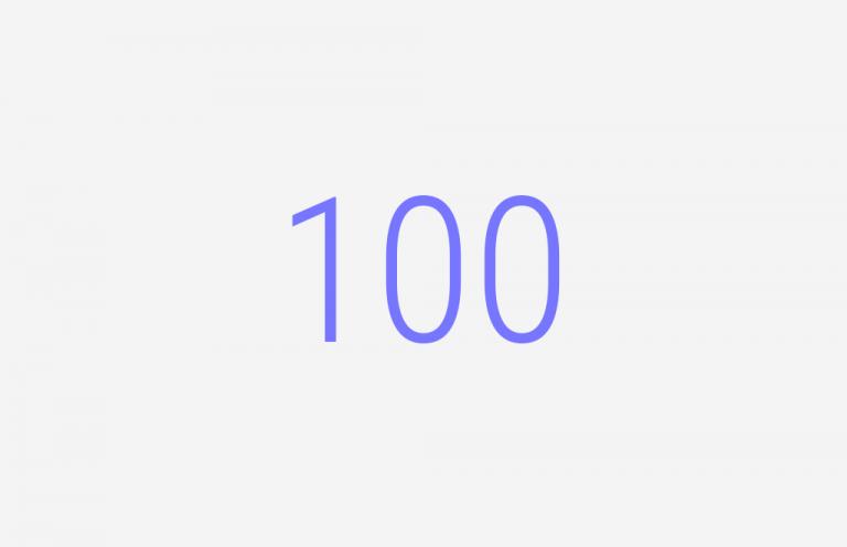 100. Llegamos al episodio 100
