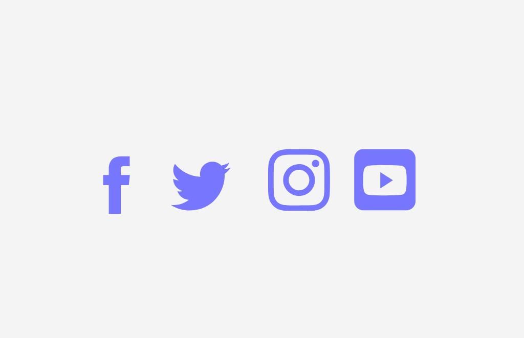 59. Iconos de redes sociales, ¿Sí o no?