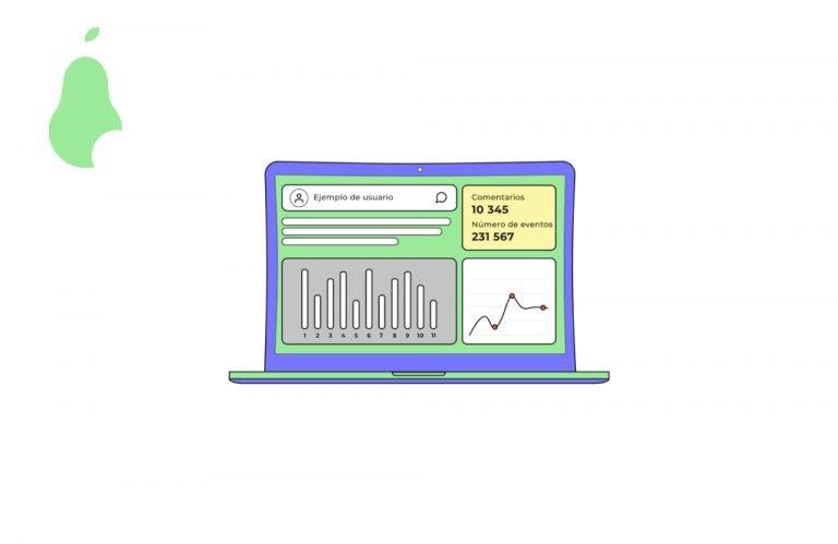Ordenador con analítica web