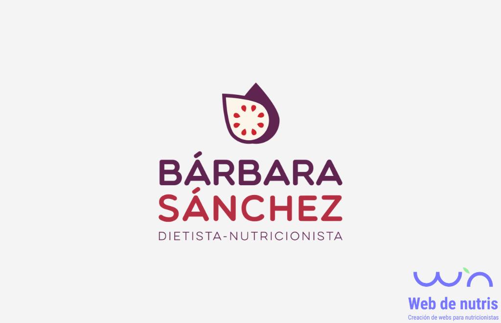 Proyecto Bárbara Sánchez Nutrición